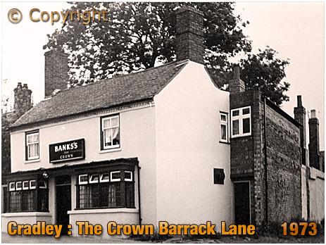 Cradley : The Crown on Barrack Lane [1973]