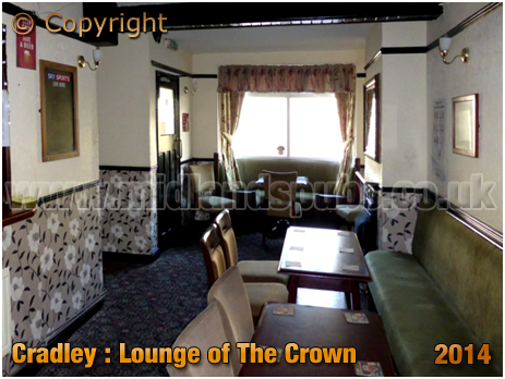 Cradley : Lounge of The Widders on Barrack Lane [2014]