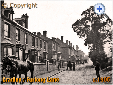Cradley : Furlong Lane [c.1905]