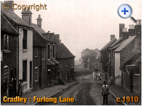 Cradley : Furlong Lane [c.1909]
