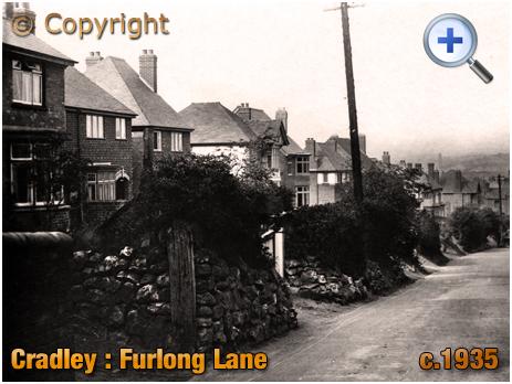 Cradley : Furlong Lane [c.1935]