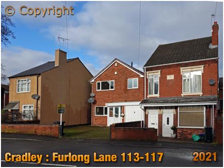 Cradley : Former Cycle Agency on Furlong Lane [2018]