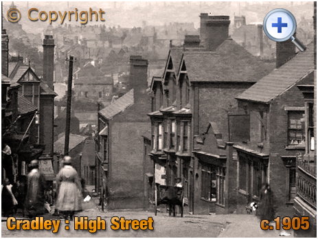 Cradley : High Street and Little Hill [c.1905]