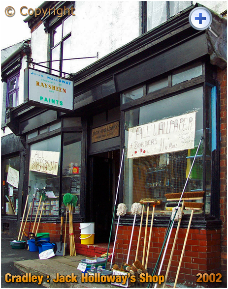 Cradley : Jack Holloway's Hardware Shop on the High Street [2002]