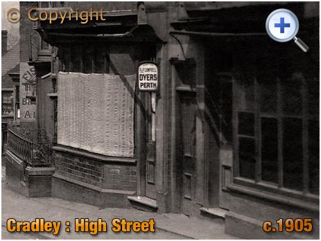 Cradley : High Street Shops [c.1905]