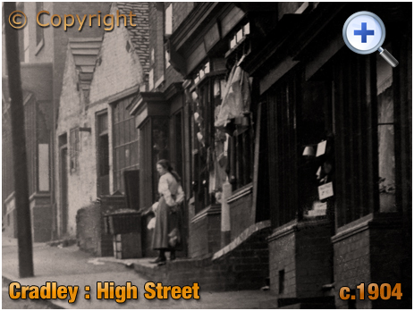 Cradley : High Street Shops [c.1904]