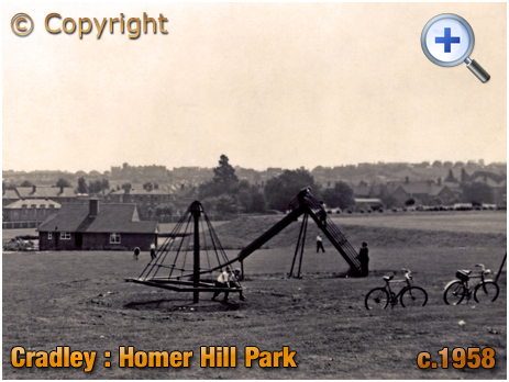 Cradley : Homer Hill Park and Sons of Rest Building [c.1958]