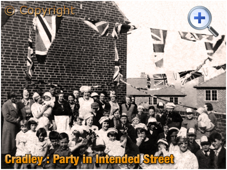 Cradley : Street Party in Intended Street