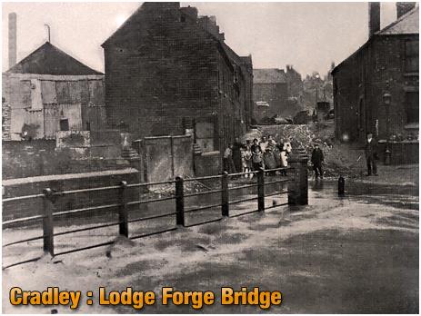 Cradley : Lodge Forge Bridge