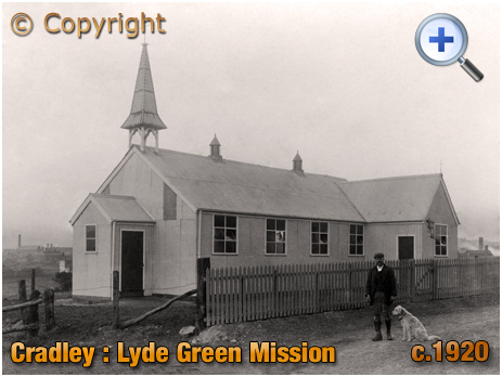 Cradley : Good Shepherd Mission Chapel at Lyde Green [c.1920]