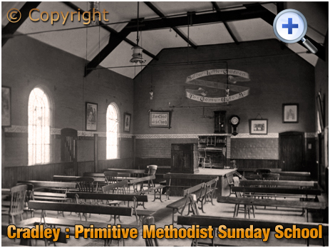 Cradley : Primitive Methodist Sunday School at Colley Orchard [c.1910]