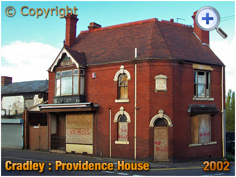 Cradley : Providence House on the corner of Colley Gate and Furlong Lane [2002]