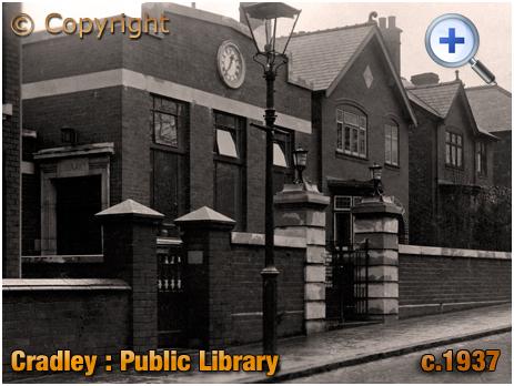 Cradley : Public Library [c.1937]
