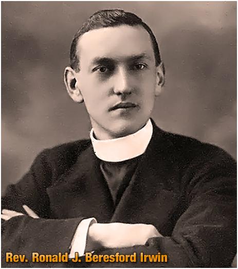 Rev. Ronald John Beresford Irwin - former Curate of Cradley