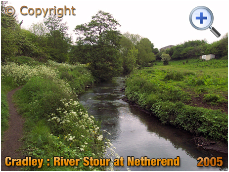 Cradley : River Stour at Netherend [2005]