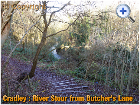 Cradley : The River Stour at Overend [2020]