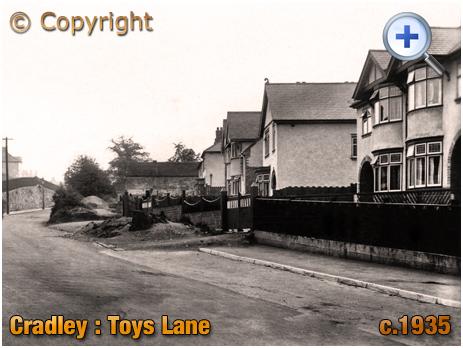 Cradley : Toy's Lane [c.1935]