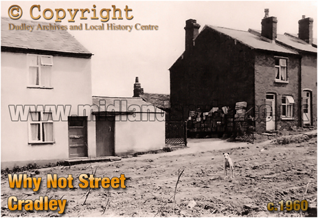 Why Not Street at Cradley [c.1960 Photograph by Geoffrey C. Grove]