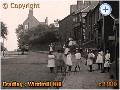 Cradley : Windmill Hill [c.1909]