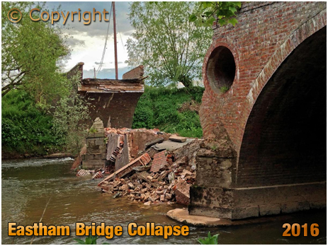 Lindridge : Collapse of Eastham Bridge [2016]