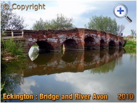 Eckington : Bridge and River Avon [2010]