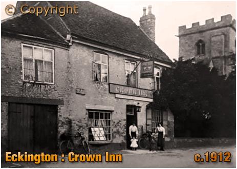 Eckington : Crown Inn [c.1912]