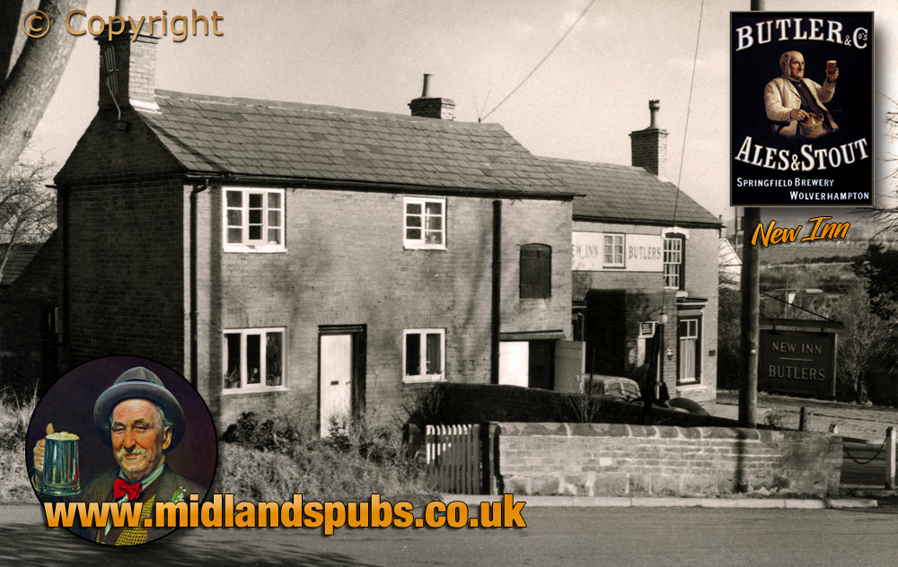 Bournheath : The New Inn and Cottage [1964]