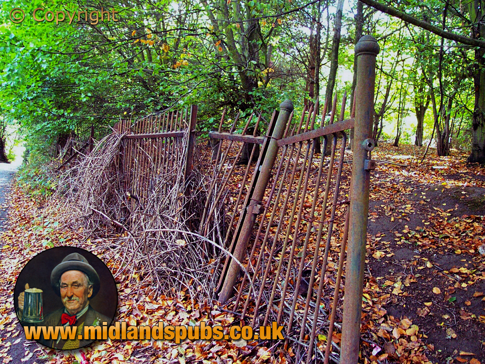 Cradley : Old Fencing of the Beech Tree Colliery [2002]