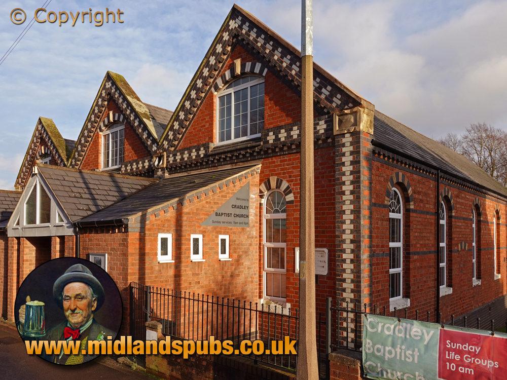 Cradley : Baptist Church in former British Schools [2020]