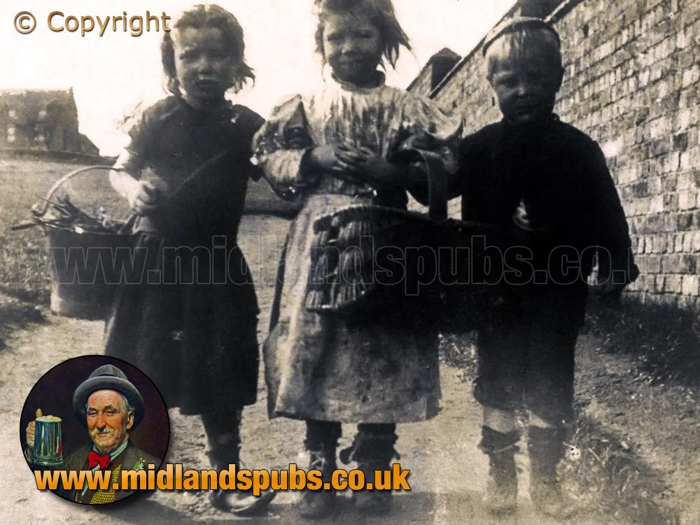 Children at Cradley [c.1890]