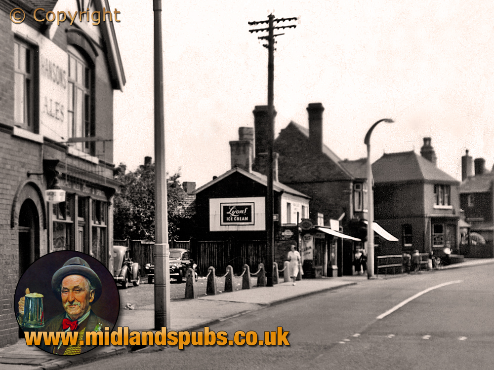 Cradley : Colley Gate and the Gate Inn [c.1957]