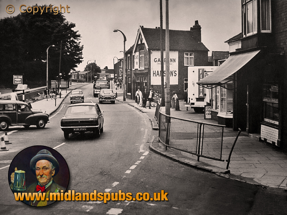 Cradley : Colley Gate with Shops and Gate Inn [1969]