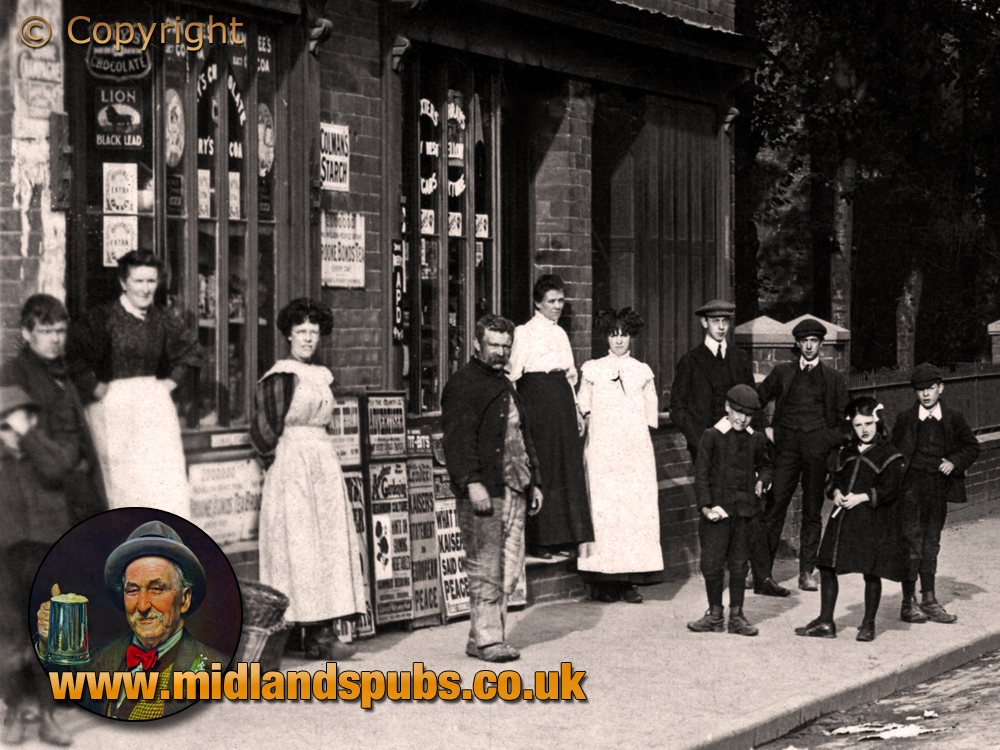Cradley : Colley Gate Shops and Shopkeepers [c.1910]