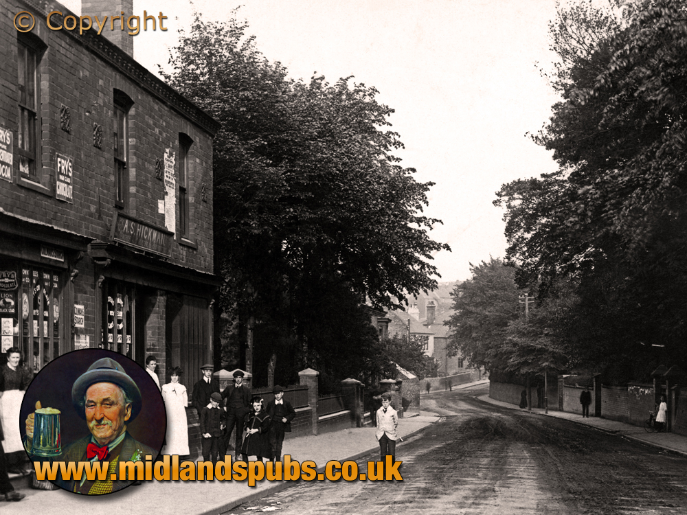 Cradley : Colley Gate and Shops in Edwardian times [c.1910]