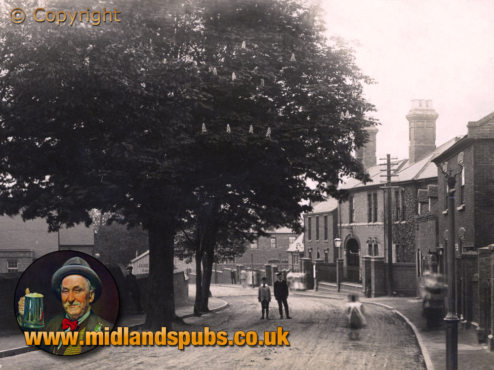 Cradley : Colley Lane Tree and Police Station [c.1910]