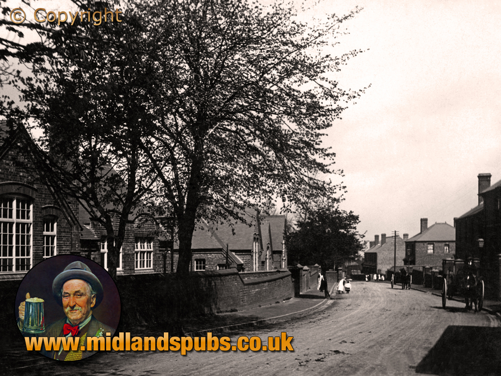 Cradley : Colley Lane Schools and Police Station [c.1911]