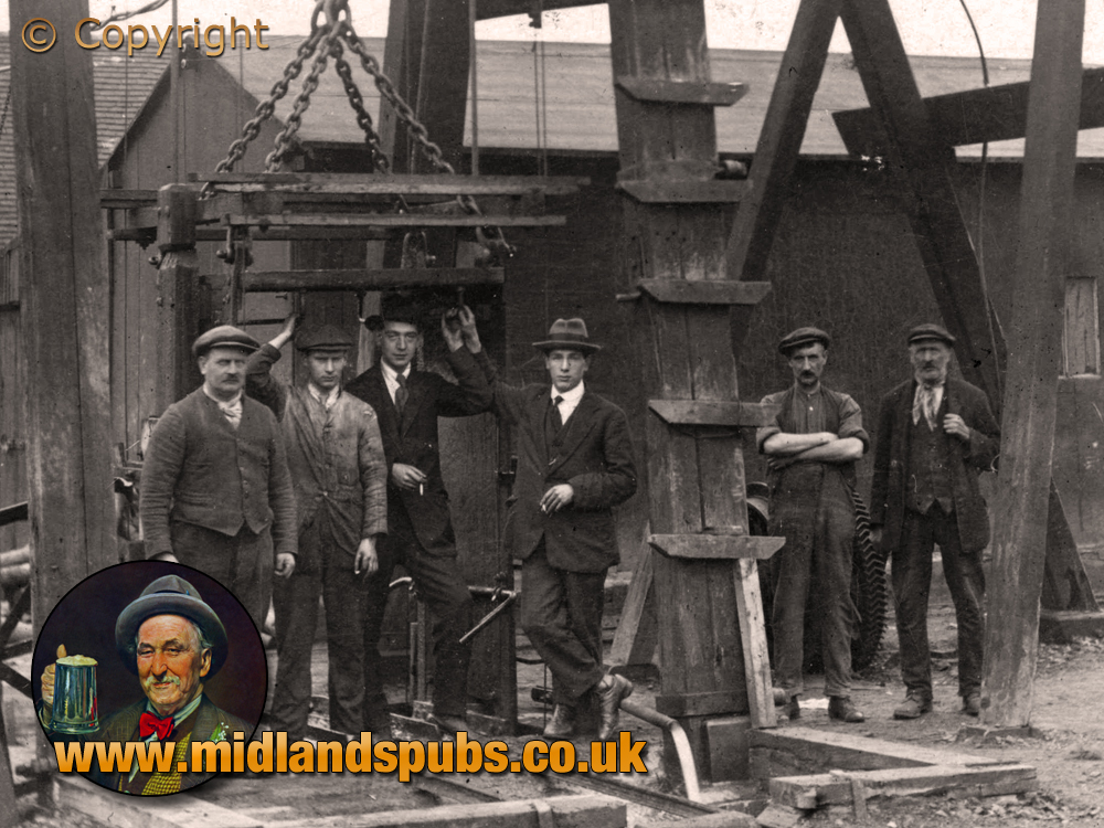 Cradley : Homer Hill Colliery from Lane's End near Lyde Green [c.1908]