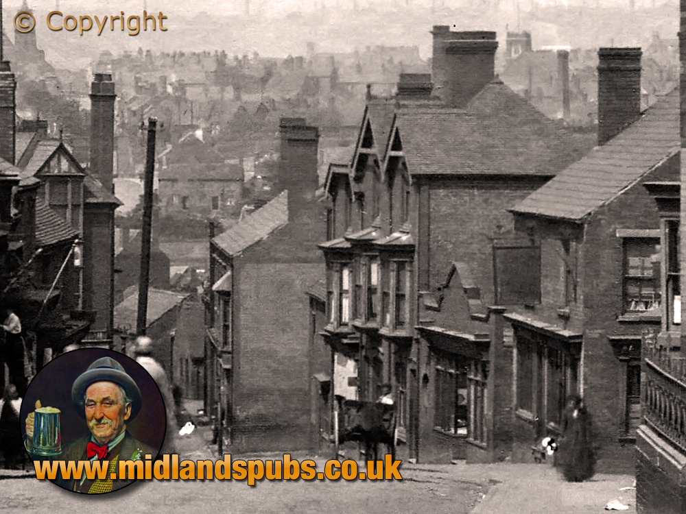 Cradley : Jack Holloway's High Street and Little Hill [c.1905]