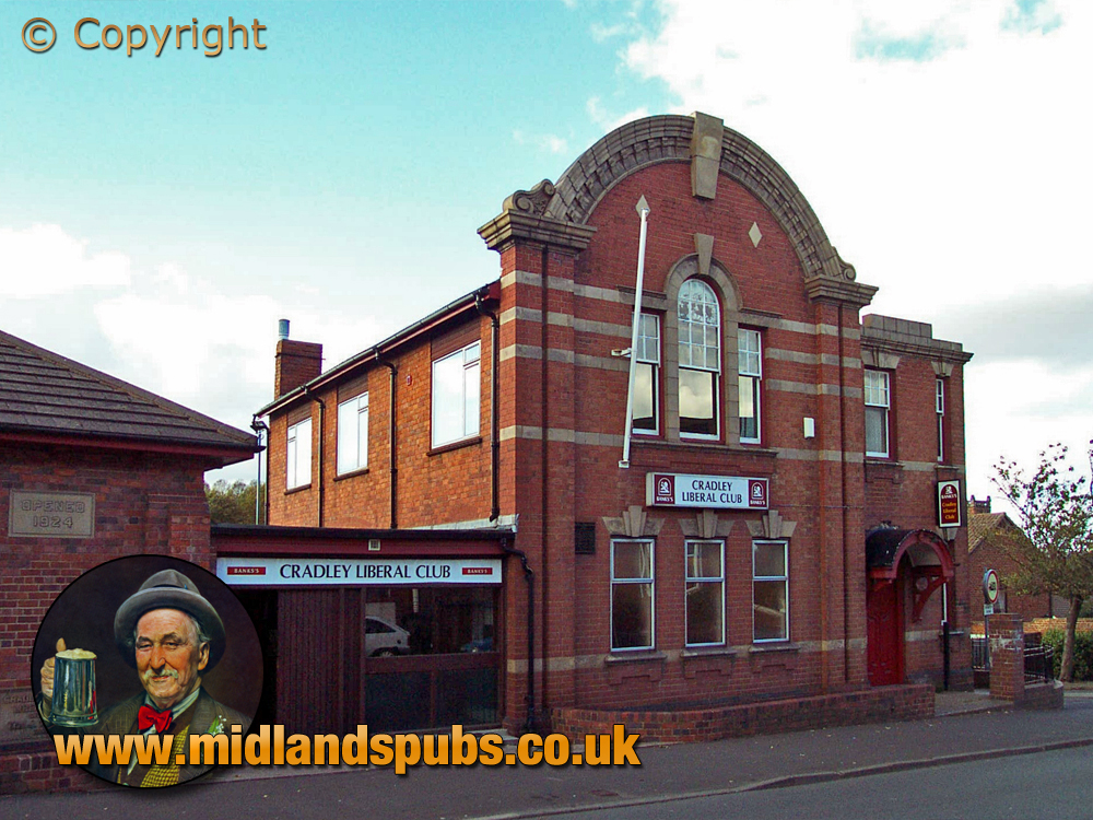 Cradley : Liberal Club in Colley Lane [2002]