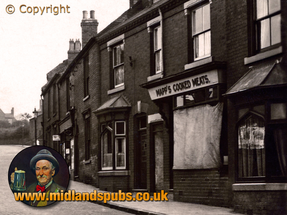 Cradley : Mapp's Cooked Meat Shop on Windmill Hill [c.1937]