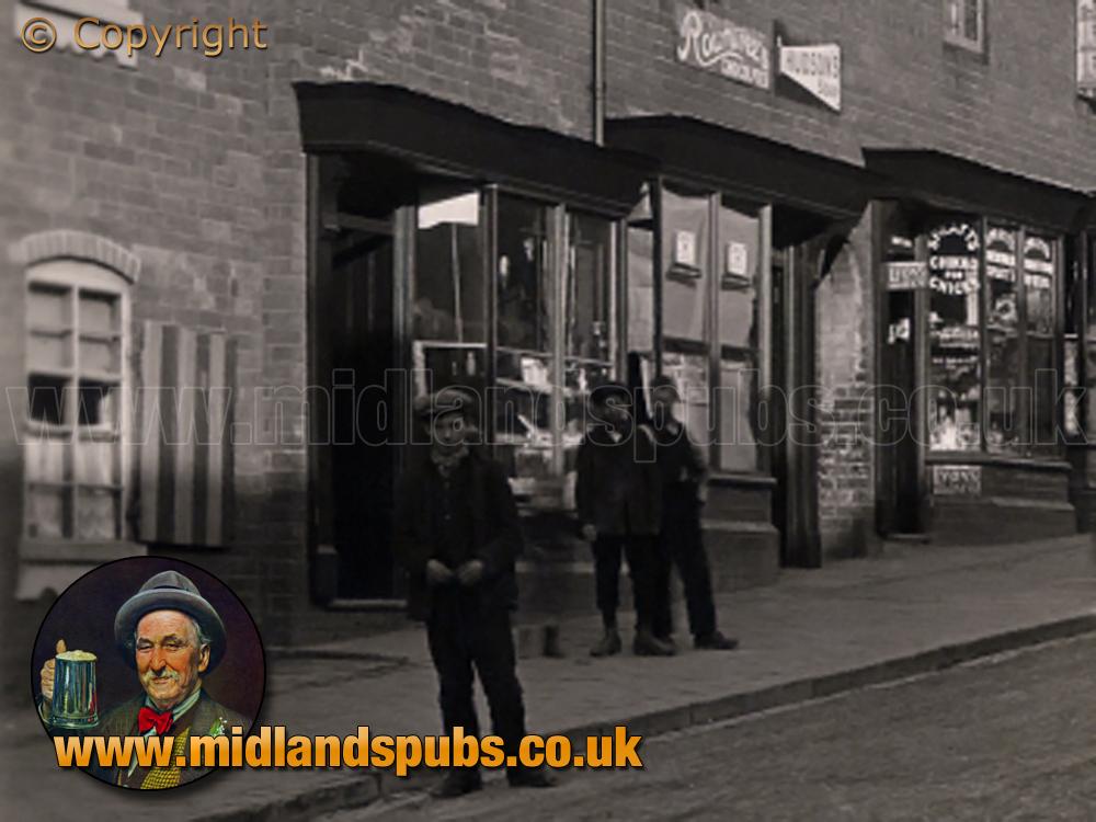 Cradley : Shops on Windmill Hill [c.1908]