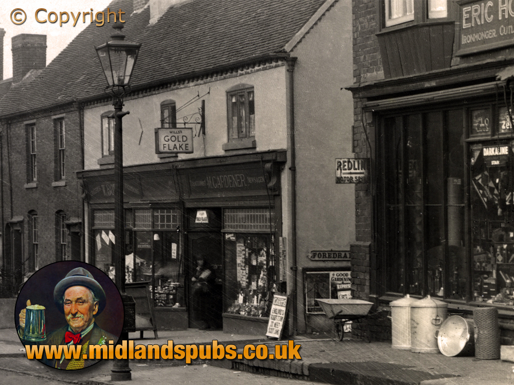 Cradley : Newsagent and Hardware Shop on Windmill Hill [c.1932]