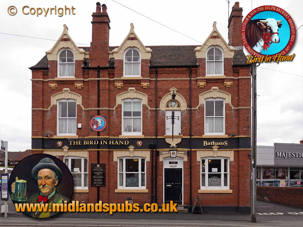 Oldswinford : Frontage of the Bird in Hand [2020]
