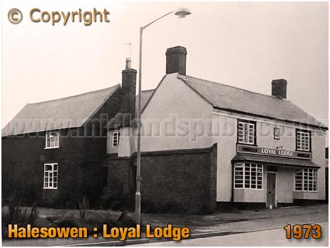 Halesowen : Loyal Lodge on Furnace Hill [1973]