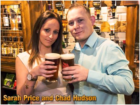 Halesowen : Sarah Price and Chad Hudson at the Loyal Lodge on Furnace Hill [2017]