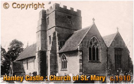 Hanley Castle : Parish Church of Saint Mary [c.1910]