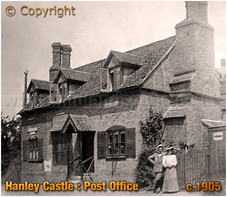 Hanley Castle : Post Office [c.1905]