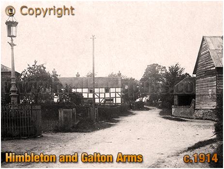 Himbleton and The Galton Arms [c.1914]