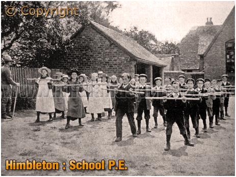 Physical Education at Himbleton School [c.1910]