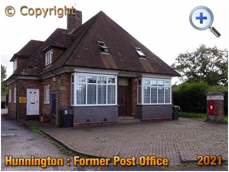 Hunnington : Former Post Office [2021]